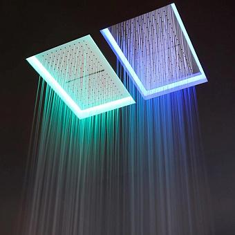 Antonio Lupi Meteo  Встраиваемый верхний душ  52x35x11см, с LED подсветкой, цвет: белый