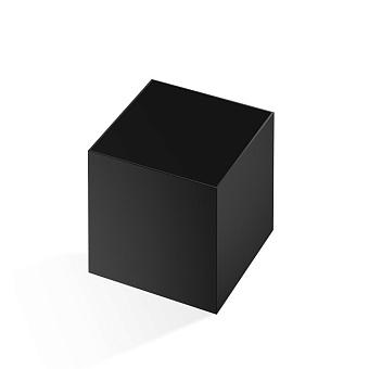 Decor Walther Cube DW 356 Баночка универсальная 13x13x14см, цвет: черный матовый