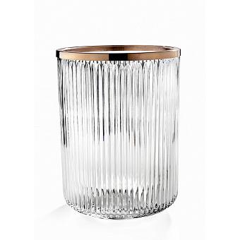 3SC Elegance Ведро, без крышки, 20хh28х20 см, цвет: oro rosa lucido