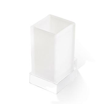 Decor Walther Corner WMG Стакан подвесной, стекло сатинированное, цвет: белый матовый