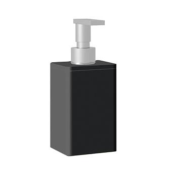 Bertocci Fly Дозатор из композита, настольный, цвет: черный матовый/хром