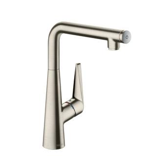 Hansgrohe Kitchen M5116-H160 Кухонный смеситель, однорычажный, с вытяжным душем, сталь