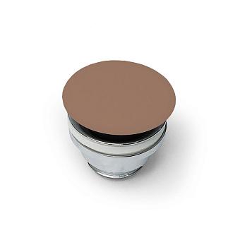 Artceram Донный клапан для раковин универсальный, покрытие керамика, цвет: Marrone tortora