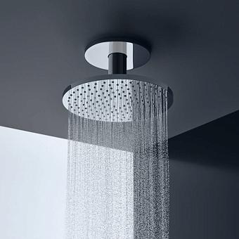 Axor ShowerSolution Верхний душ, Ø 250мм, 2jet, с держателем 100мм, потолочный монтаж, цвет: хром