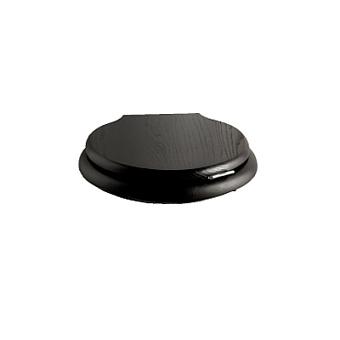 Devon&Devon Etoile/New Etoile Сиденье для унитаза с микролифтом, цвет DEEP BLACK, МДФ, петли хром, микролифт