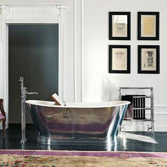 Ванна Gentry Home Richmond отдельно стоящая 170х68хh69,5 см с покрытием из алюминия