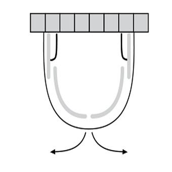 Sprinz Saphir Душевое ограждение Hoesch «Amalfi» 1100x Н:1900мм