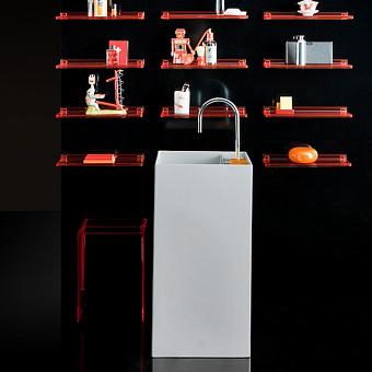 Laufen Kartell  Раковина напольная 375х435х900мм без перелива, с 1 отв. под смеситель, цвет: белый
