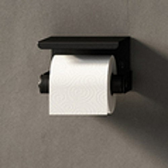 Agape Mach 2 Держатель для туалетной бумаги подвесной 14.2x8.5 см, цвет: черный