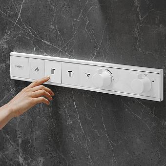 Hansgrohe Rainselect Термостат для 4 потребителей, цвет белый