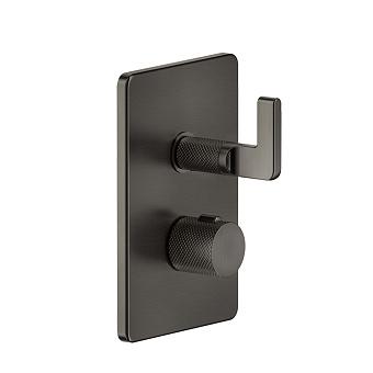 Gessi Inciso- Термостатический смеситель, 2 выхода, цвет: black XL