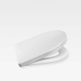 Armani Roca Island Сиденье для унитаза, с микролифтом, лакированное, цвет: белый