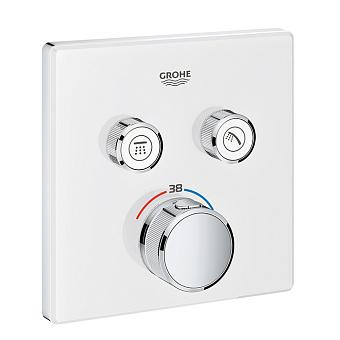 Grohe Grohtherm SmartControl Термостат для встраиваемого монтажа на 2 выхода, хром