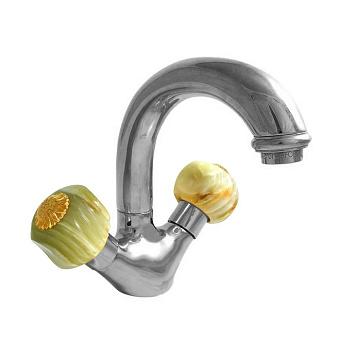 Nicolazzi Onice Смеситель для раковины с поворотным изливом, излив: 139 мм, цвет: хром