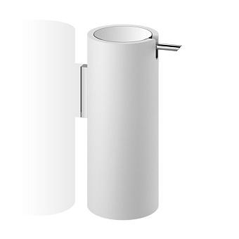 Decor Walther Stone WSP Дозатор для мыла, подвесной, цвет: белый / хром