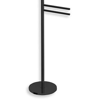 Bertocci Cinquecento Полотенцедержатель напольный 90 см, цвет: черный матовый