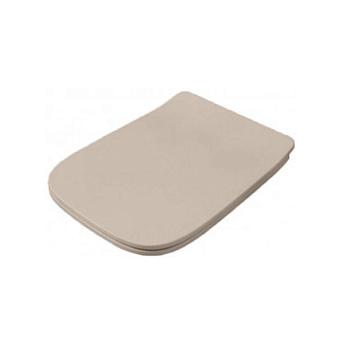 Artceram A16 Сиденье для унитаза с микролифтом, цвет: matera, петли: хром