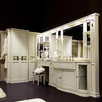 Комплект мебели Eurodesign IL Borgo Plus comp. №31 171/255x51/59xh202 см, столешница категории B Giallo Atlantide