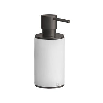 Gessi 316 Дозатор для жидкого мыла настольный, цвет: белый/brushed black metal pvd
