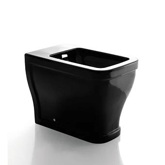 Cielo Opera Quadro Биде приставное 36x57x44h см, 1 отв., цвет: черный