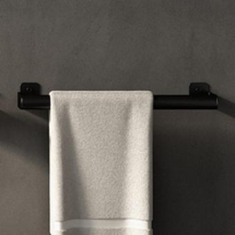 Agape Mach 2 Полотенцедержатель 60.4 см, цвет: черный