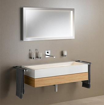 Keuco Edition 300 Комплект мебели 95x52.5х15.5 см, олива
