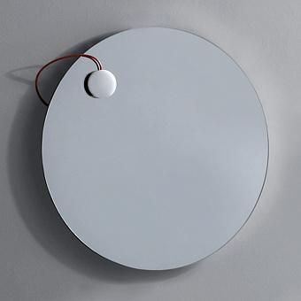 Simas Frame Зеркало круглое с металлической структурой 70 см