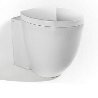 Cielo Le Giare Унитаз напольный 37×55×42.5h см, с креплениями, цвет: глянцевый белый