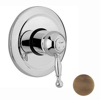 CISAL Arcana Royal Встраиваемый однорычажный смеситель для душа, цвет бронза