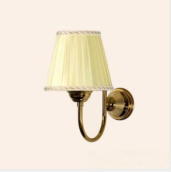 TW Harmony 029, настенная лампа светильника с основанием, цвет: золото, абажур на выбор