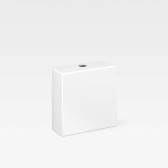 Armani Roca Baia Бачок для унитаза 38х17х38см с 2-м механизмом смыва, с нижним подводом воды, цвет: белый
