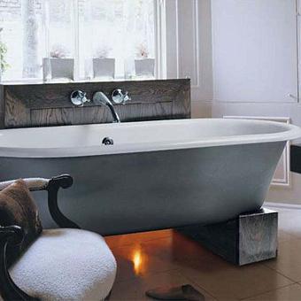 Ванна Gentry Home Violet отдельно стоящая 170х78хh59,6 см на ножках из дерева