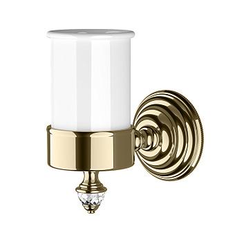 Devon&Devon Diamond Стакан подвесной, белая керамика, цвет: светлое золото