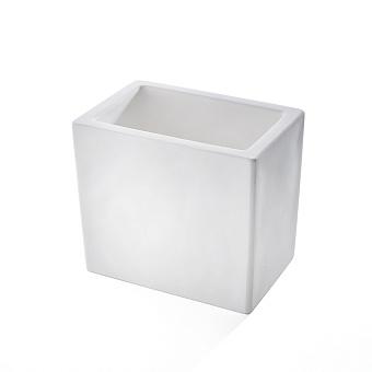 3SC Mood White Стакан настольный, композит Solid Surface, цвет: белый матовый
