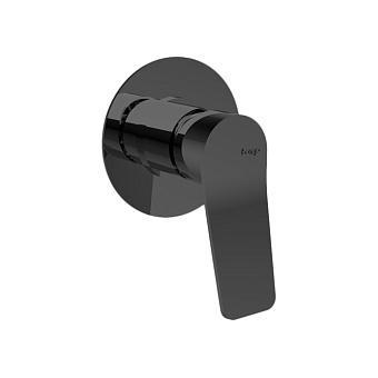 Bongio GIO2 Смеситель встроенный для душа, цвет: черный матовый