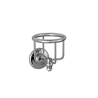 Stella Italica Подстаканник настенный (без стакана), цвет: хром