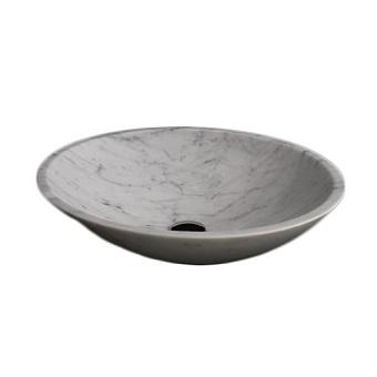 Rifra Cerchio Раковина накладная 46х46х14 см, натуральный камень
