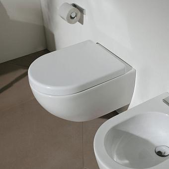 Flaminia MINIAPP Унитаз подвесной 48.5x36xh27см, с системой goclean®, цвет: белый глянцевый
