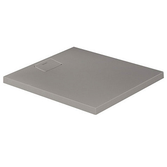 Duravit  Stonetto Поддон композитный  прямоугольный  900x800х50mm, d90, цвет Бетон