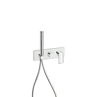 Cristina Profilo Смеситель для ванны/душа с переключателем на 2 выхода, встраиваемый, цвет: