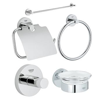 GROHE Essentials Набор аксессуаров для ванной, цвет: хром
