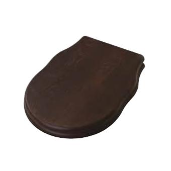 Artceram HERMITAGE Сиденье для унитаза, шарниры бронза, цвет орех(noce) с микролифтом