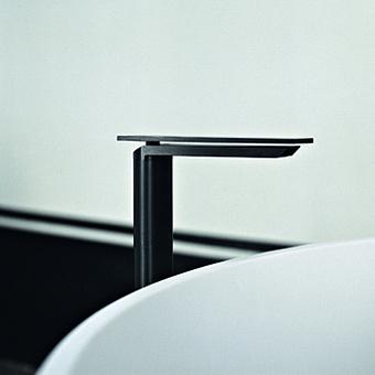Agape Sen Однорычажный смеситель для раковины, на 1 отв., высота: 295мм, излив: 140мм, цвет: черный