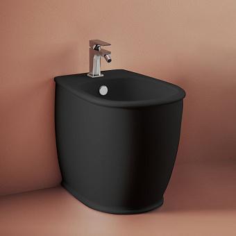 Artceram Atelier Биде напольное 52,5х37,5хh42см, с 1 отв под смеситель, цвет: черный матовый