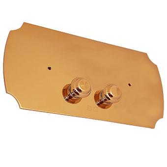 Devon&Devon Клавиша двойного смыва, цвет: золото