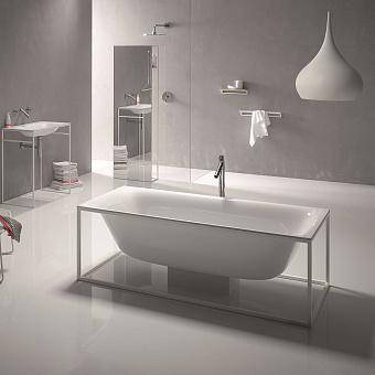 Bette Lux SHAPE Ванна отдельностоящая 180х80х45 см, прямоугольная, на каркасе, покрыта эмалью снаружи и изнутри, BetteGlasur® Plus, цвет: белый