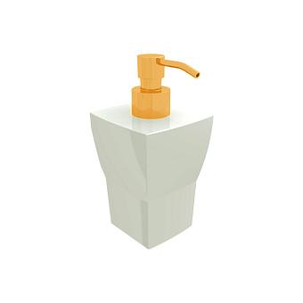 Bertocci Grace Дозатор настольный, цвет: белая керамика/золото