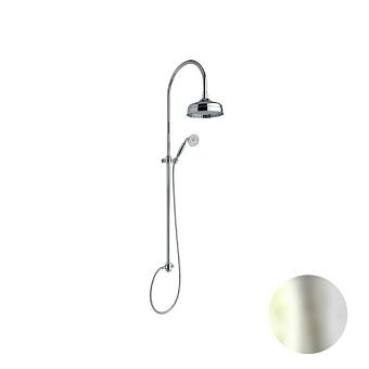 Nicolazzi Doccia Душевая стойка с верхним душем Ø 30см, с переключателем и ручным душем, цвет: никель блестящий