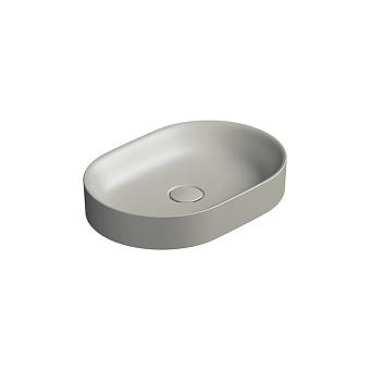 Catalano Horizon Раковина накладная 50х30хh:8.5см., без перелива, цвет: цемент матовый