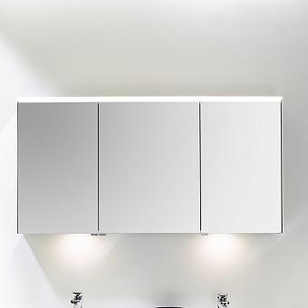 Burgbad Yumo Шкаф зеркальный 130x67.5x21 см, с подсветкой